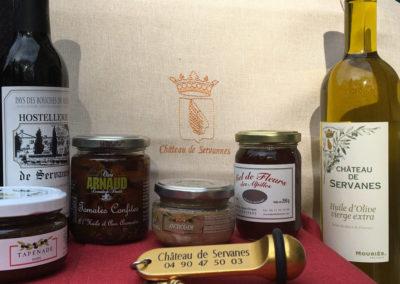 huile olives chateau de servanes